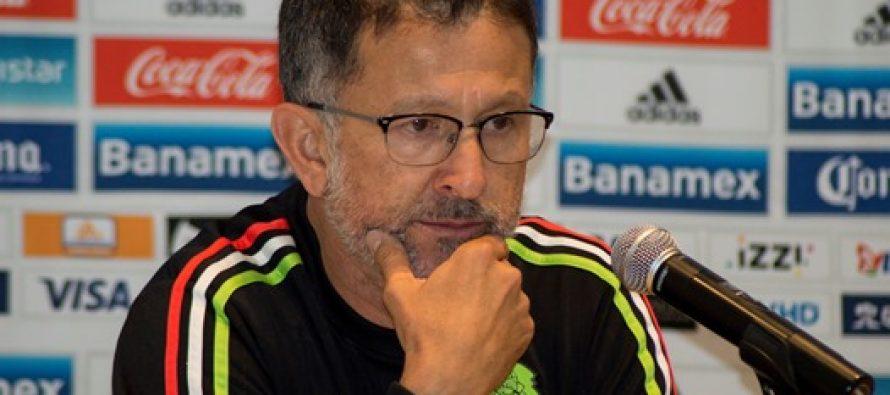 No vamos por el empate ante Panamá, dice Juan Carlos Osorio