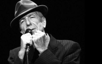 Murió el cantautor y poeta Leonard Cohen