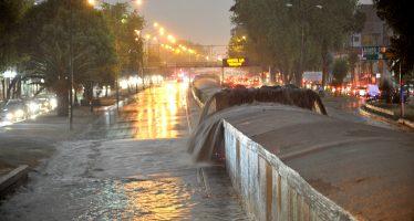 Lluvias provocaron caos vial y fallas en semáforos de la CDMX