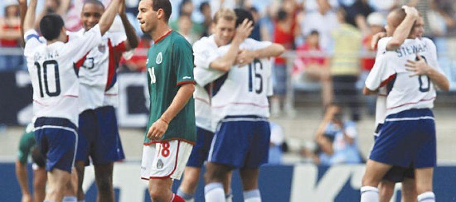 Historia llena de decepciones, los encuentros de futbol Estados Unidos-México
