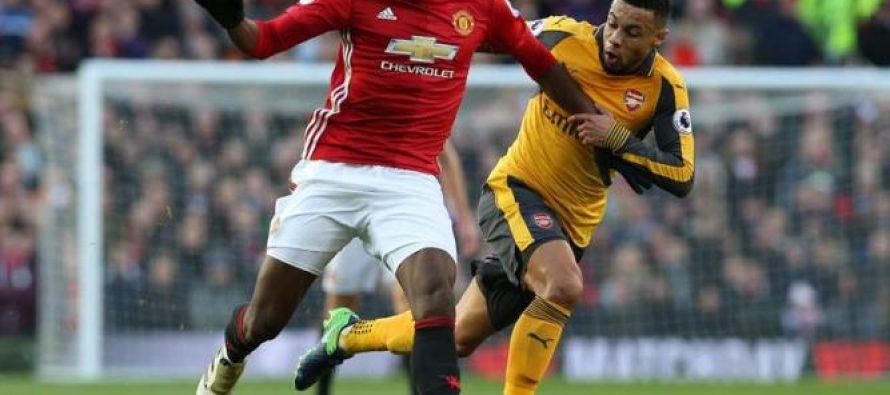 Conformista United se dejó empatar 1-1 por el Arsenal
