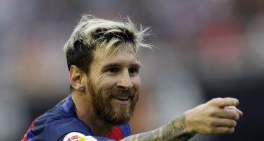 Messi logra su gol 500 con el Barcelona; va directo al Pichichi