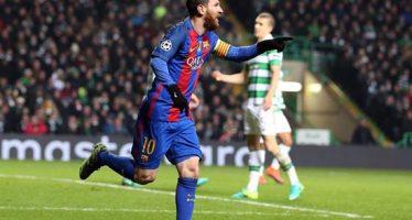Barcelona vence 2-0 al Celtic en la Liga de Campeones; los dos fueron de Messi