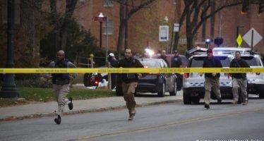 Policía aniquila al tirador de la Universidad de Ohio; hay ocho heridos