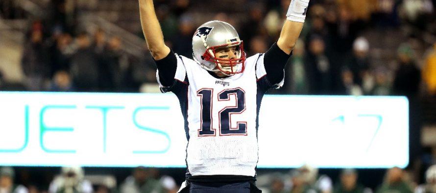 Tom Brady de los Patriotas alcanza marca histórica de triunfos en la NFL