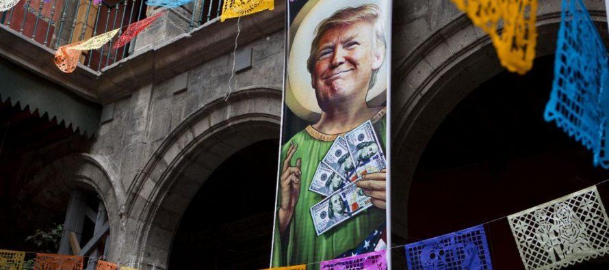 Donald Trump llegó al Museo de la Caricatura