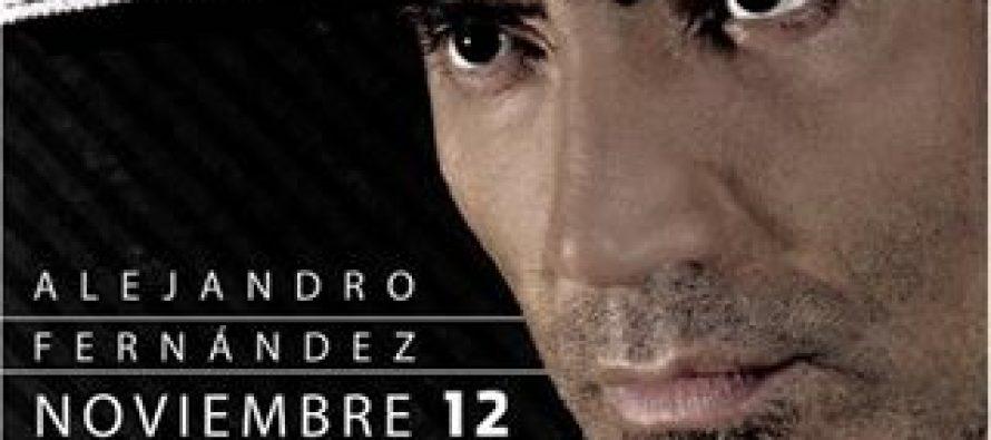 Alejandro Fernández cantará este sábado en el Zócalo