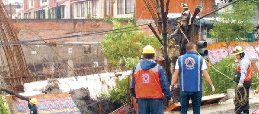 Estudio fallido de mecánica de suelos no previó hundimiento en construcción de Villa Coapa