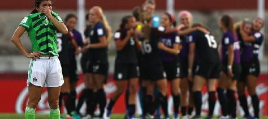 México pierde 2-1 ante EU; es eliminado de la Copa Mundial Femenina Sub20