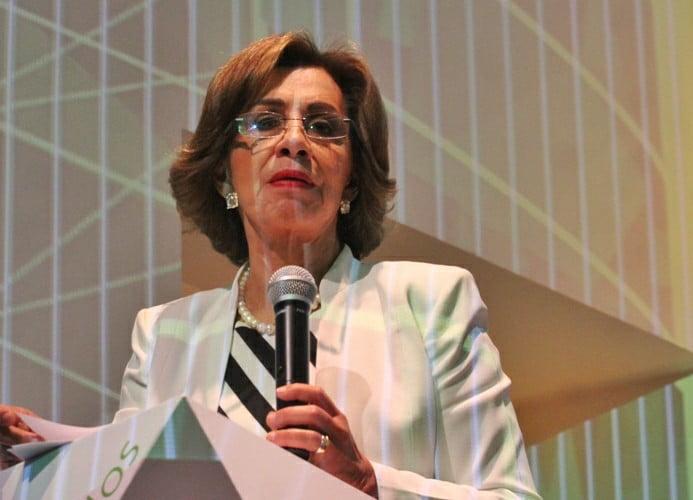La funcionaria de Economía, Rocío Ruiz