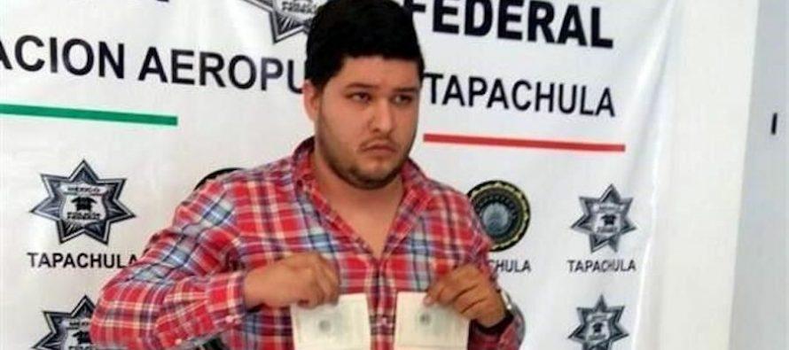 Liberan a sujeto que traía documentos apócrifos para Javier Duarte