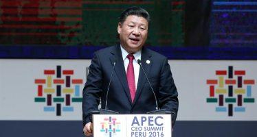 Libre comercio es estrategia de prosperidad en APEC, dice presidente de China