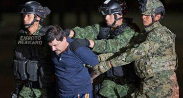 """Defensa teme que le dicten pena de muerte al """"Chapo"""" en los EU"""