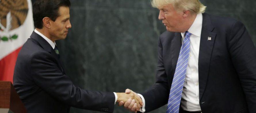 EPN felicitó a EU por sus elecciones; reitera a Trump disposición de trabajar juntos