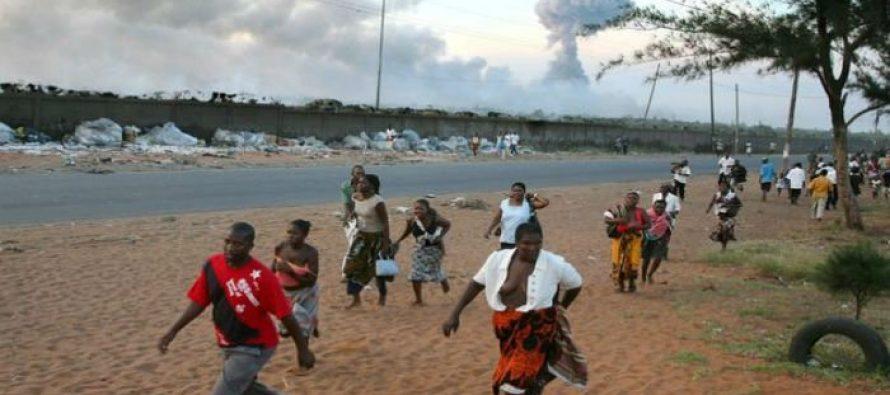 Mueren 73 personas por explosión de camión cisterna en Mozambique