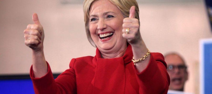 Cuatro sondeos diferentes dan como ganadora a la presidencia de EU a Hillary Clinton