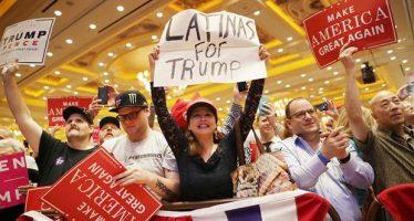 También hay hispanos que apoyan a Trump y enfrentan la burla de los suyos