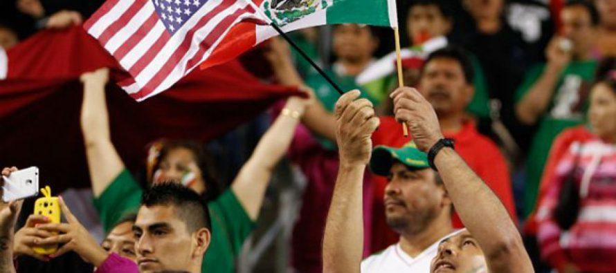 Se calienta el ambiente para el partido México vs Estados Unidos