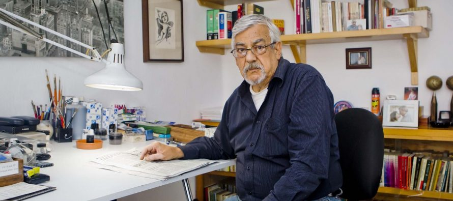 Murió el maestro caricaturista Rogelio Naranjo