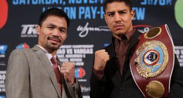 Pacquiao regresa al box e intentará quitarle el título a Jessie Vargas