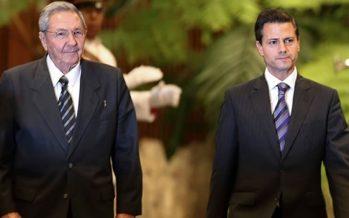 Peña Nieto asistirá a los funerales de Fidel Castro