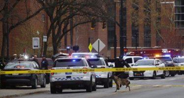 Nueve heridos y un posible muerto en sospechoso tiroteo en Universidad de Ohio