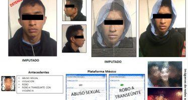 Detienen a violador de al menos nueve mujeres en la CDMX