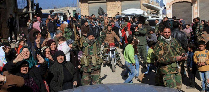 Tropas sirias liberan Alepo; 3,406 rebeldes deponen sus armas
