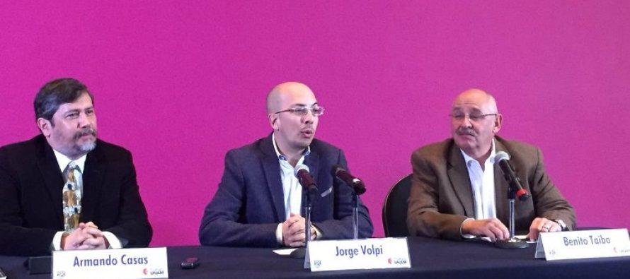 Nombran nuevos directores de Radio y TV UNAM a Benito Taibo y Armando Casas