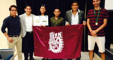 Estudiantes del Poli ganan el primer Rally Internacional de Medio Ambiente