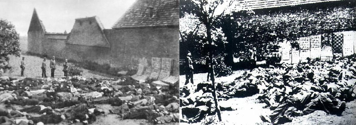 La masacre de Lídice