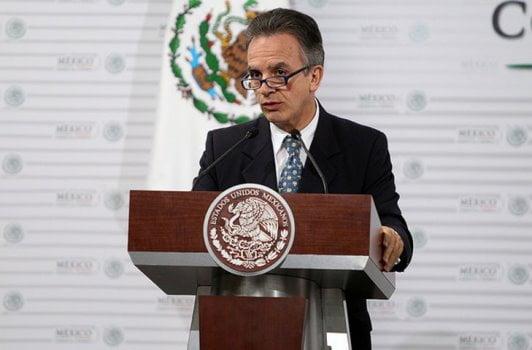 El subsecretario Miguel Ruiz Cabañas