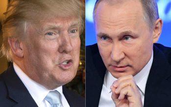 Trump elogia a Putin por no responder agresivamente a las sanciones de EU