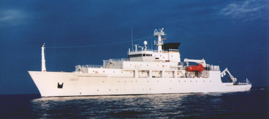 Barco chino se apodera de dron submarino estadunidense