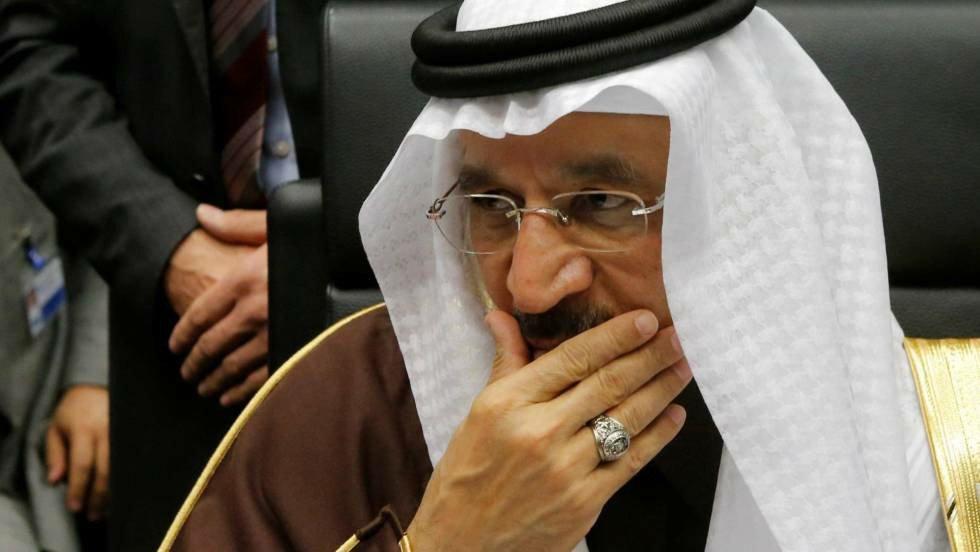 El ministro saudí de Energía, Khaled al Falih