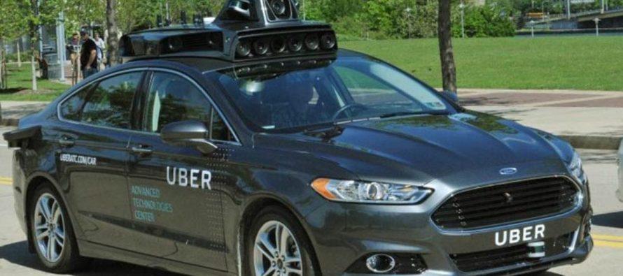Causa polémica servicio de vehículos autónomos de Uber en California