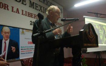 La situación de Medio Oriente y Siria fue abordada por Chossudovsky en su tercera plática-seminario