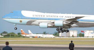 Trump cancela fabricación de nuevo avión presidencial; sus datos causan polémica