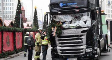 Estado Islámico se adjudica ataque de camión en plaza de Berlín