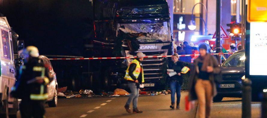 Policía detiene sospechoso de camión que atropelló gente en Berlín