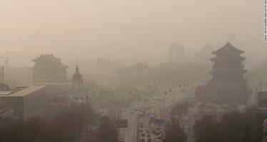 China vive seis días de alerta roja por contaminación del aire