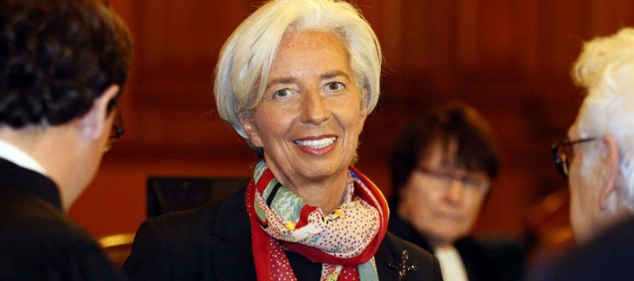 Tribunal considera a Lagarde culpable por negligencia, pero la absuelve