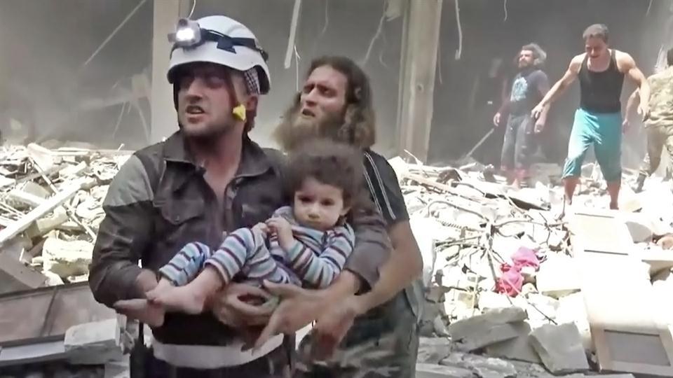 Ataques en Siria no respetan lugares, mujeres ni niños