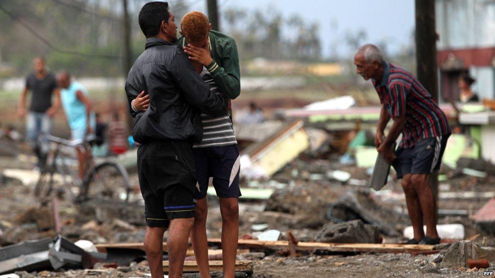 Daños del huracán Matthew en Cuba