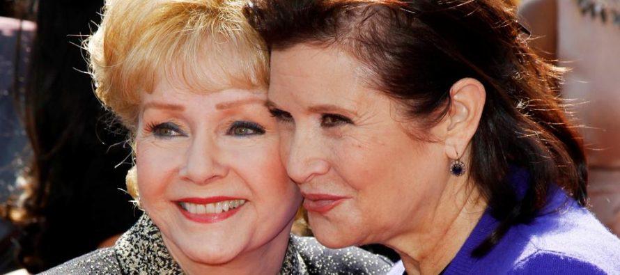 Falleció la actriz Debbie Reynolds, un día después que su hija Carrie