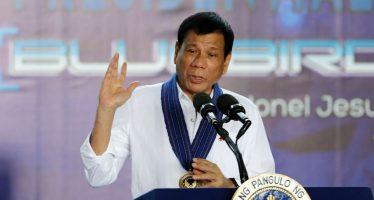 Presidente de Filipinas admite que con sus propias manos dio muerte a criminales