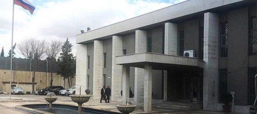 Embajada de Rusia en Siria es objeto de dos ataques terroristas