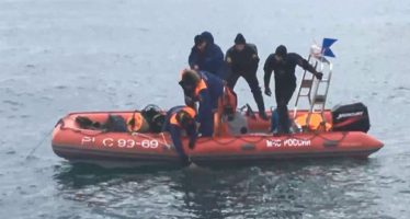 Hallan la segunda caja negra del Tu-154 ruso que cayó en el Mar Negro