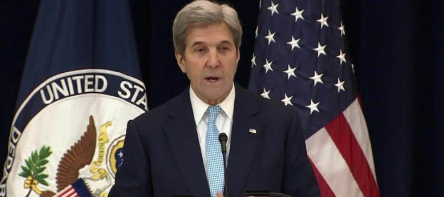 John Kerry defiende actuación de EU en la ONU por conflicto Israel-Palestina