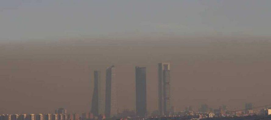 Madrid aplicará por primera vez el hoy no circula, por contaminación